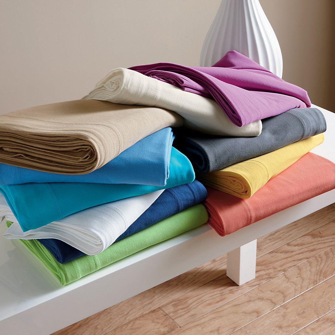 jersey knit sheets